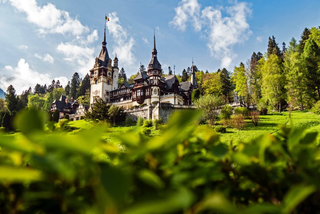 Castle Peles about an hour and a half outside of Brasov, Romania